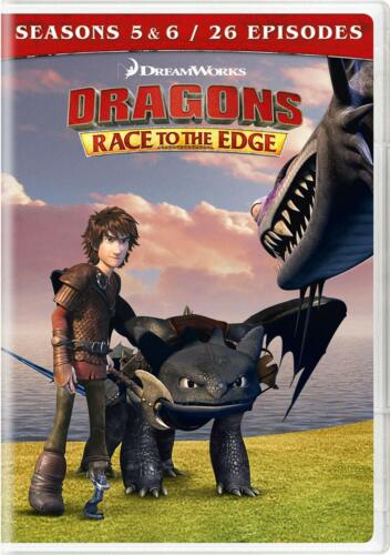 Dragons: Race to the Edge - Seasons 5 & 6 DVD New Sealed