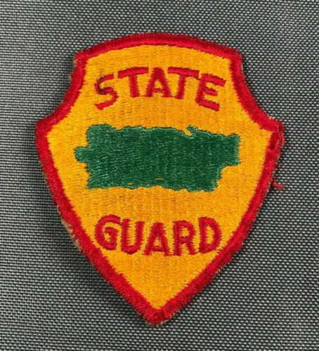 Post WW2 Puerto Rico State Guard SSI Patch 783AOriginal Period Items - 13981