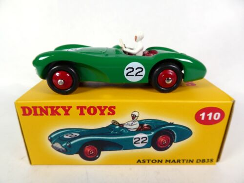 Aston Martin DB3 Sports verte - DINKY TOYS DeAgostini VOITURE MODEL CAR 110