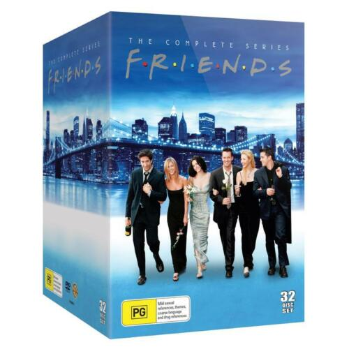 FRIENDS 1-10 (1994-2004) COMPLETE CLASSIC COMEDY TV Seasons Series - Au Rg4 DVD