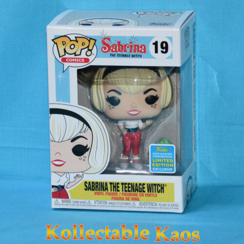 2019 SDCC SCE - Sabrina the Teenage Wtich Pop! Vinyl Figure (RS) #19