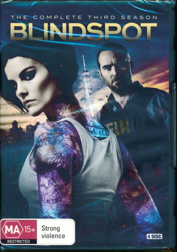 Blindspot Complete Third Season Season 3 Three DVD NEW Region 4