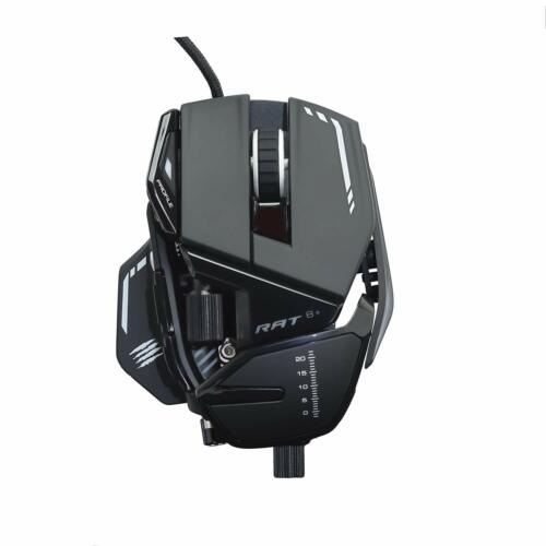 Mad Catz RAT8+ Wired Optical USB LED RGB Gaming Mouse R.A.T. 8+