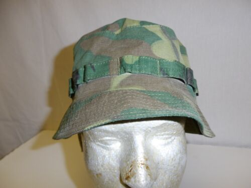 e2962-L US Military Vietnam ERDL Camouflage Boonie Hat size Large W11CReproductions - 156445