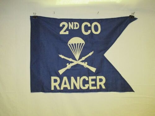 flag1263 Korea US Army Guide on 2nd CO Company Ranger Airborne Infantry IR42EReproductions - 156441