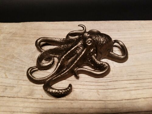 Brass Octopus Paperweight Vintage Antique Style