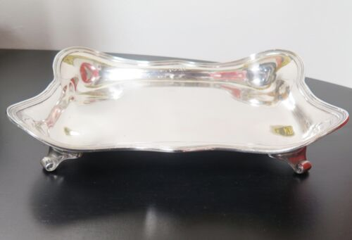 .1907-47 Vintage Tiffany & Co Sterling Silver Large Asparagus Serving Dish Tray
