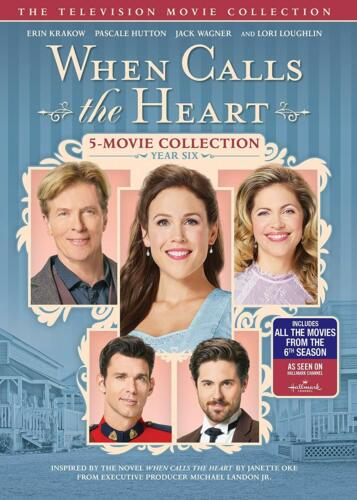 When Calls The Heart: Year Six 6 DVD New Sealed