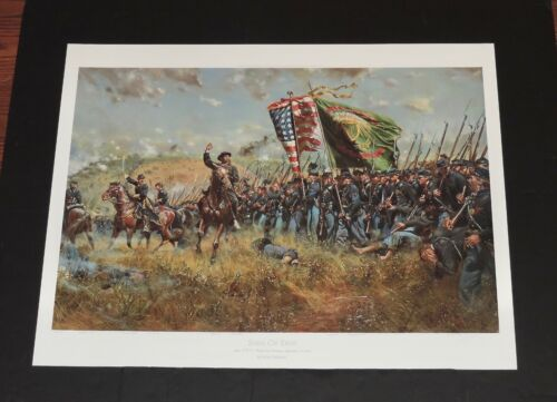 Don Troiani - The Sons Of Erin - Mint - Collectible Civil War Print