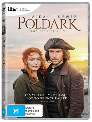 POLDARK 5 (2019): FINAL - Aidan Turner TV Drama Season Series - NEW Au Rg4 DVD