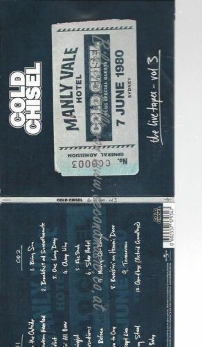 CD-- Cold Chisel – The Live Tapes - Vol 3