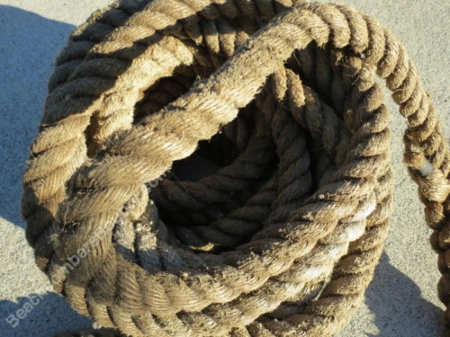 1+¼ inch x 72 feet Used Manila Rope -(XMR279)
