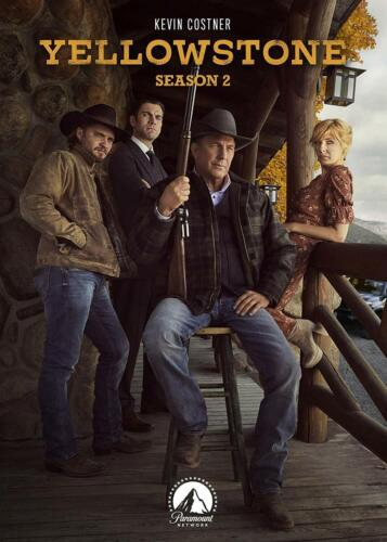 Yellowstone Series 2 Season Two DVD R4 Kevin Costner New & Sealed
