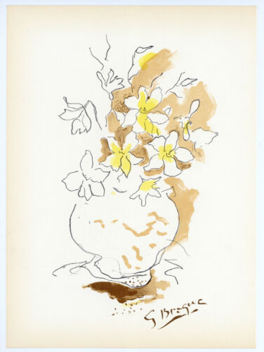 Georges Braque lithograph for Carnets Intimes  467567678