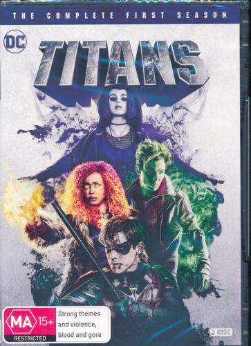 Titans The Complete First Season One 1 DVD NEW Region 4
