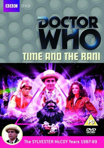 DR WHO 144 (1987) - TIME AND THE RANI - TV Doctor Sylvester McCoy R2 DVD sp