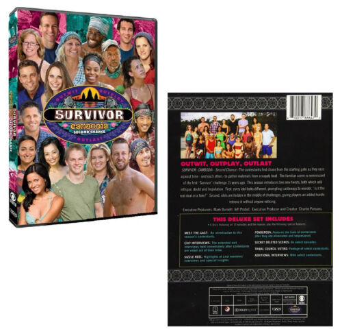 SURVIVOR 31 (2015) CAMBODIA - SECOND CHANCE - Voted in - US TV Season R1 DVD sp