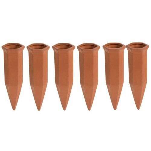 Self Watering Spikes - 6-pack Auto Plant Self Waterer Drip System 6.9