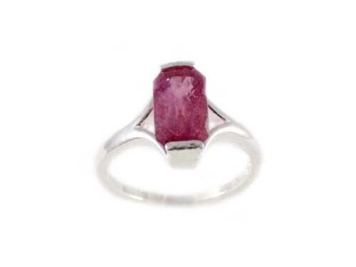 Raspberry Pink Ruby Ring 3ct Vintage Gem of Theophratus Plato Ancient Greek Rome