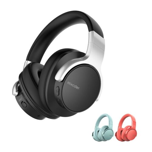 Mixcder E7 Active Noise Cancelling Bluetooth Headphones Over Ear Headsets with M <br/> Fast & Free Shipping  Express Available AU Stock