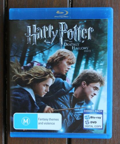 Harry Potter And The Deathly Hallows Part 1 Blu-ray Disc (2010)