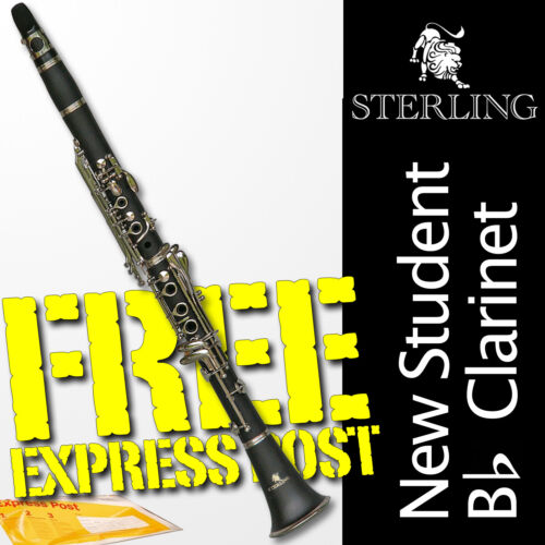 CIBAILI Bb Student CLARINET •  Best Student Quality • With Case • BRAND NEW •
