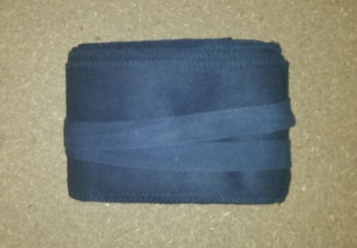 DARK BLUE WW1 LONG 9 FT PUTTEES - FRENCH, GERMAN REPRODUCTION PAIR