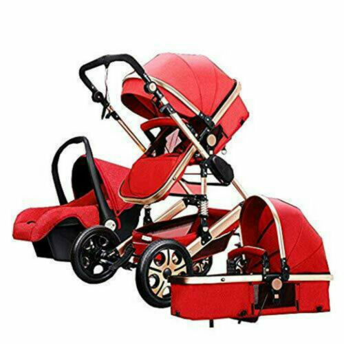LUXURY baby stroller 3 in 1 foldable Carriage Infant Travel Pram baby pushchair