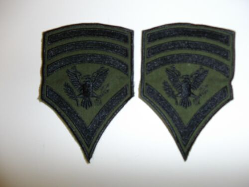 e4024p Vietnam US Army Rank Chevron Specialist 8th class SP-8 pair R1DReproductions - 156445
