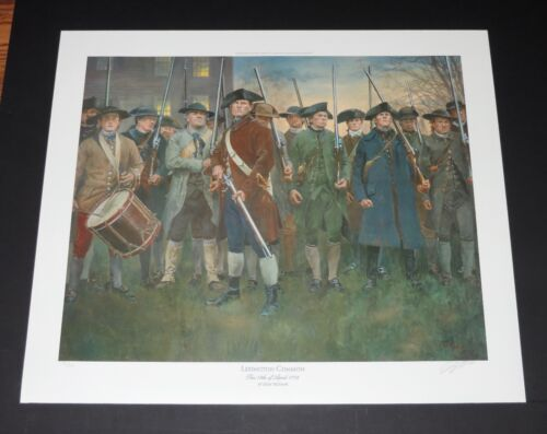 Don Troiani - Lexington Commons - Revolutionary War Print - Mint Condition