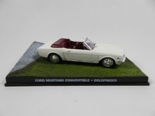 Ford Mustang Convertible James Bond 007 Goldfinger 1:43 Voiture Model Car DY035