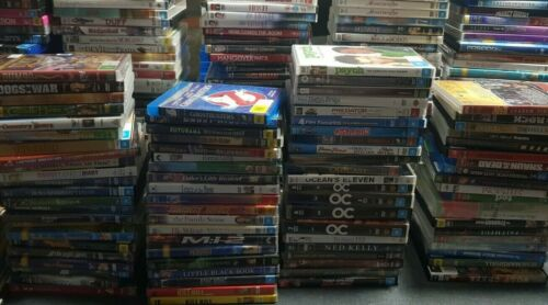 Variety Of DVD's Available New & Used Movies TV Series Seasons Blu-Ray Disc