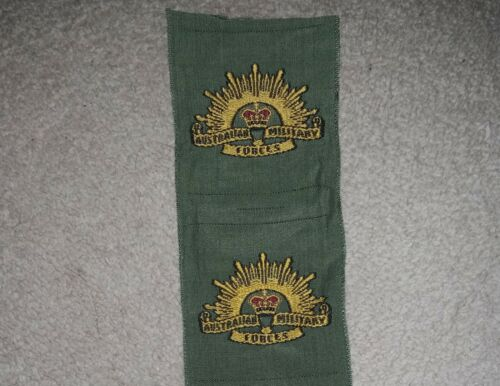 VIETNAM ISSUE AUSTRALIAN ARMY RISING SUN PATCH - OLIVE GREEN COTTON NEW