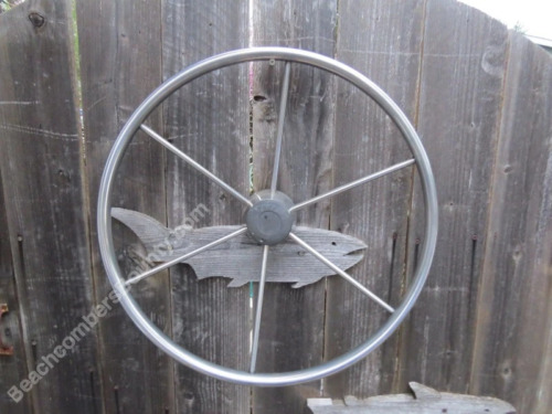 Authentic 20 inch Stainless Steel Boat Wheel -(XL1-1417)