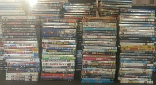 Variety Of DVD's Available Used Movies TV Series Seasons Alphabetical Drop Down