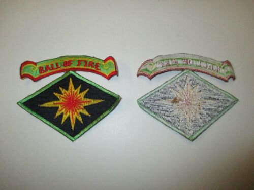 e3339 US Army Korea 40th Infantry Division With Tab Ball OF Fire   R21E2Reproductions - 156441