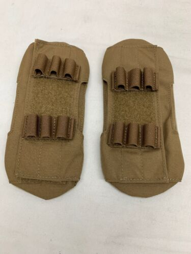 Eagle Industries DEVGRU Plate Carrier Shoulder Pads Coyote Brown MMACPouches - 158437