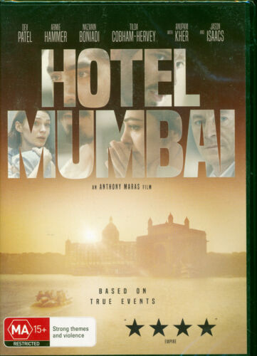 Hotel Mumbai DVD NEW based on true events Dev Patel
