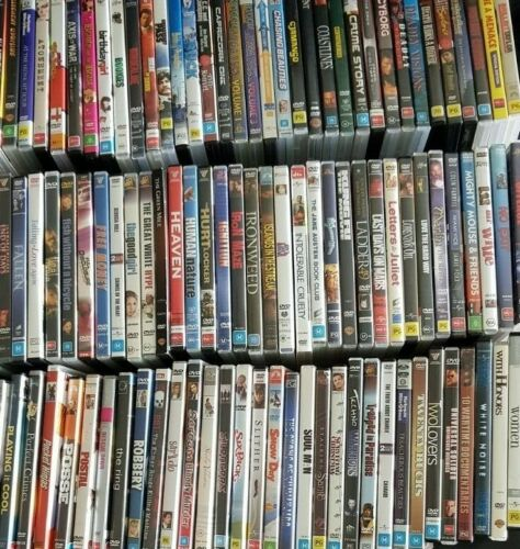 Variety Of DVD's Available A-Z Used Movies TV Seasons DVD Disc #4 *FREE POST AUD