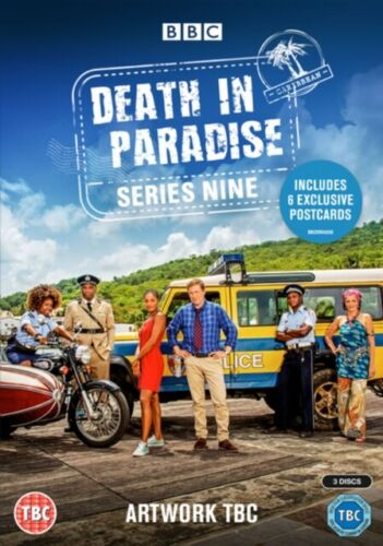 Death in Paradise Series season 9 DVD R4 New & Sealed BBC