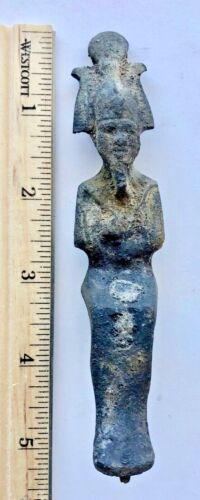 STATUE of OSIRIS Ancient Egyptian GOD OF FERTILITY Non-Magnetic/Possibly Bronze