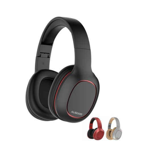 Ausdom M09 Bluetooth Foldable Over-Ear Wired Wireless Headphones