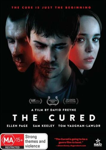 The Cured - DVD - Ellen Page - Sam Keeley -New & Sealed  - Region 4