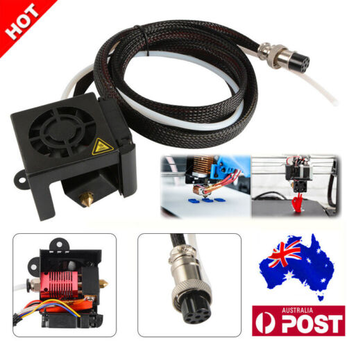For Creality CR-10 3D Printer Assembled MK8 Extruder Hot End Parts Kit TE1135 AU