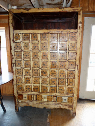 ANTIQUE  CHINESE  APOTHECARY  CABINET WITH 52 DRAWS