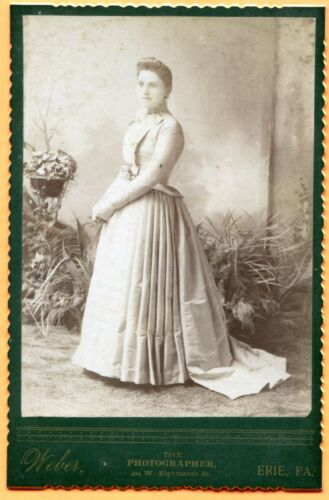Erie, PA, Portrait of a Young Woman, by Weber, circa 1880s
