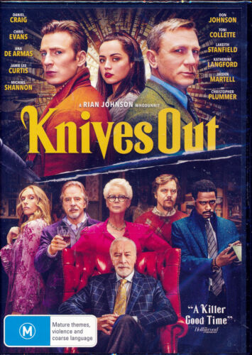 Knives Out DVD Region 4 NEW