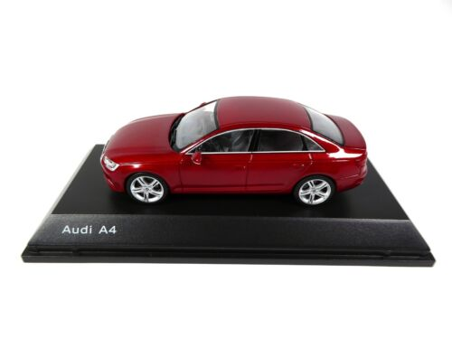Audi A4 Matador Red 1/43 Spark Dealer Pack Voiture Model Car 4123