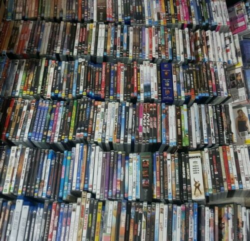 Choose Variety Of DVDs Alphabetical Order Used Movies TV Series Season Disc DVD