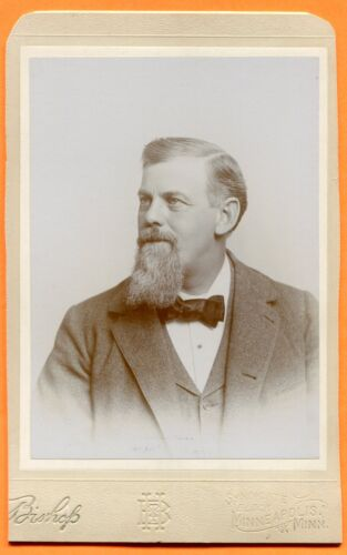 Minneapolis, MN, Portrait of a Man, by Bishop, circa 1890s
